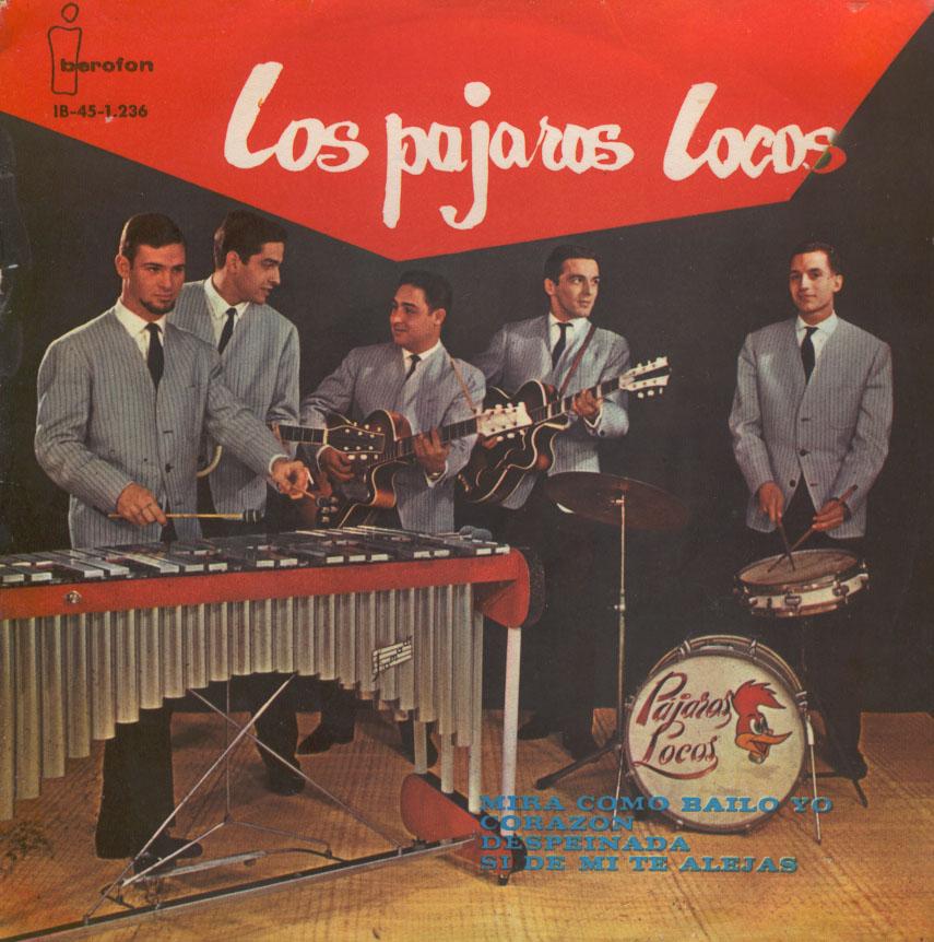 portada del disco Mira como Bailo yo / Corazón / Si de Mí Te Alejas / Despeinada