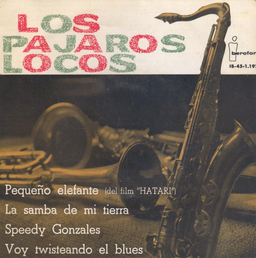 portada del disco Pequeño Elefante / La Samba de mi Tierra/ Speedy Gonzales / Voy Twisteando el Blues