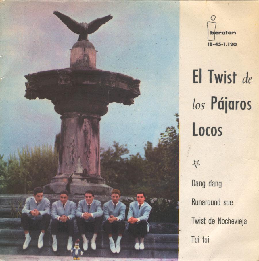 portada del disco El Twist de Los Pájaros Locos
