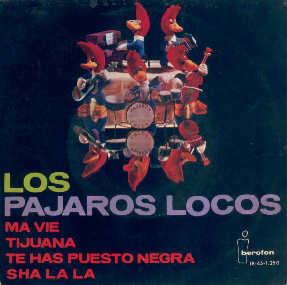 portada del disco Ma Vie / Tijuana / Te Has Puesto Negra / Sha la la