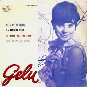 portada del disco Esta es mi Noche / La Tercera Luna / El Baile del Mattone / Que Cosas me Dirás