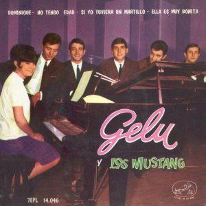 portada del disco Gelu y Los Mustang