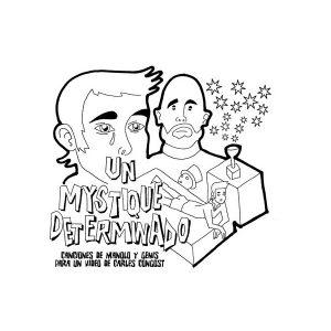 portada del disco Un Mystique Determinado - Canciones de Manolo y Genís Para un Vídeo de Carles Congost