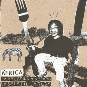 portada del disco África / Ensaladilla Menor / Utensilios Para el Almuerzo