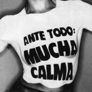 portada del album Ante Todo Mucha Calma