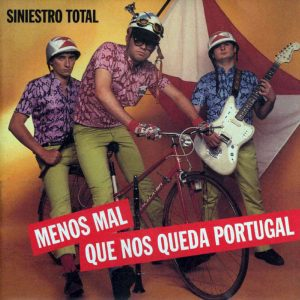 portada del disco Menos mal que nos Queda Portugal