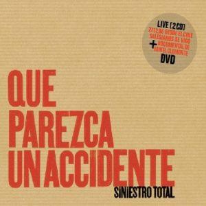 portada del disco Que Parezca un Accidente