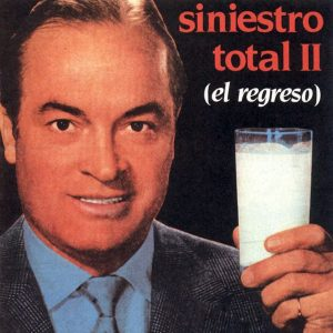 portada del disco Siniestro Total II (El Regreso)