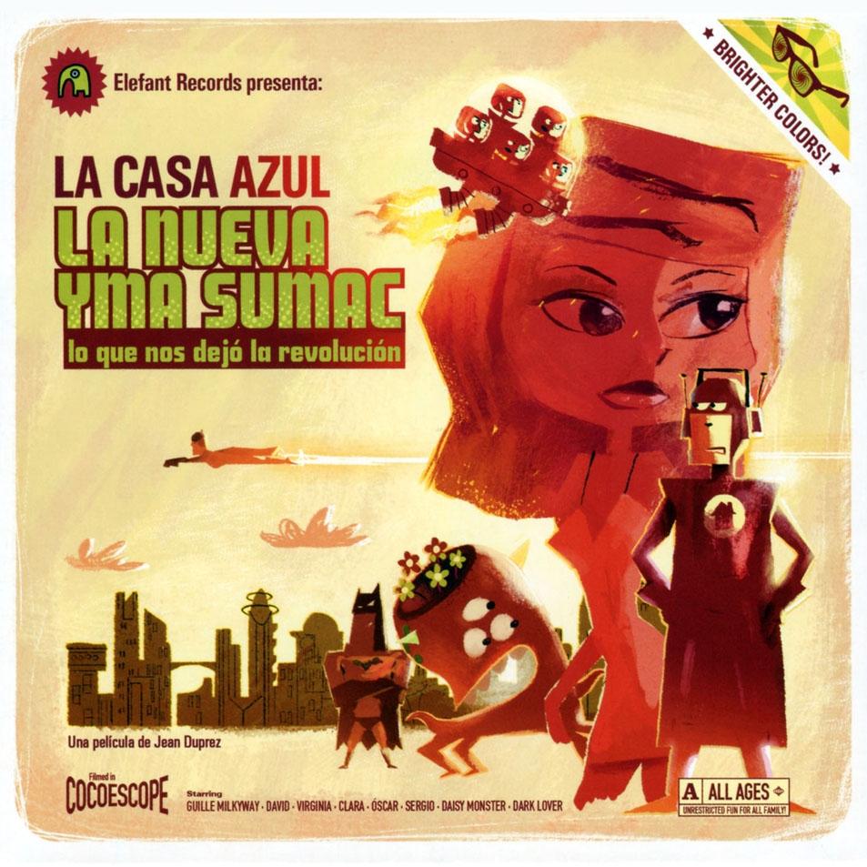 portada del album La Nueva Yma Sumac