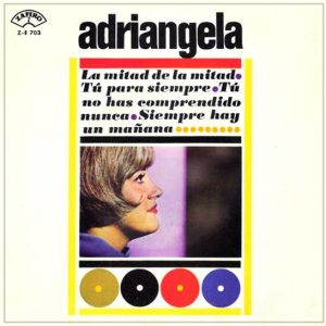 portada del disco La Mitad de la Mitad / Tu no Has Comprendido Nunca / Tú Para Siempre / Siempre Hay un Mañana
