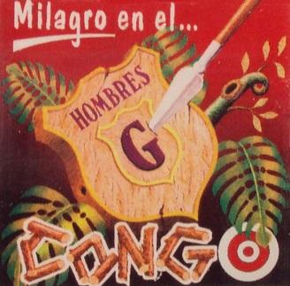 portada del disco Milagro en el Congo
