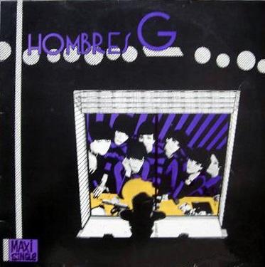 portada del disco Hombres G