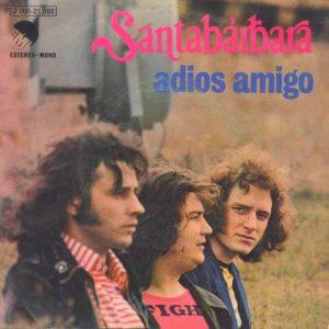 portada del disco Adiós Amigo