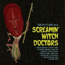 portada del disco Come On Let's Dance with the Screamin' Witch Doctors