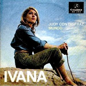 portada del disco Judy con Disfraz / Mundo