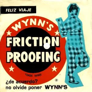 portada del disco Flexidisco Wynn's