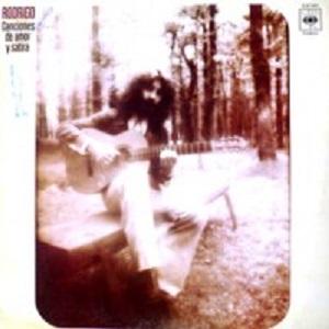 portada del disco Canciones de Amor y Sátira