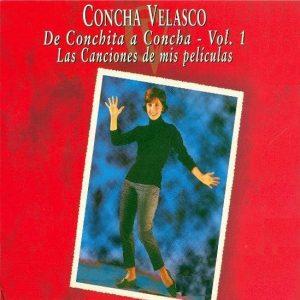 portada del disco De Conchita a Concha. Las Canciones de mis Películas
