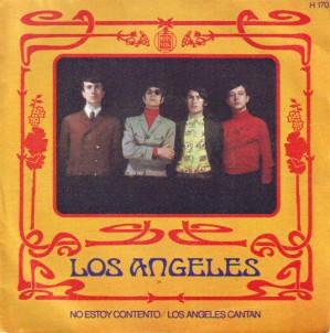 portada del disco No Estoy Contento / Los Ángeles Cantan