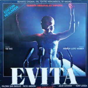 portada del disco Evita