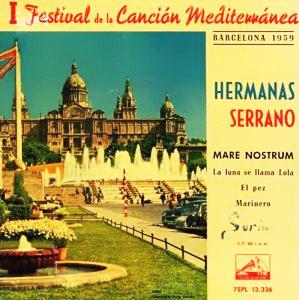 portada del disco I Festival de la Canción Mediterránea