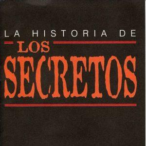 portada del disco La Historia de Los Secretos