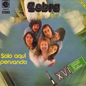 portada del disco XVI Festival de la Canción