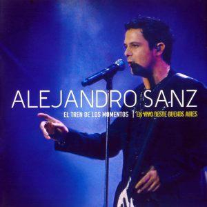 portada del disco El Tren de los Momentos - En Vivo Desde Buenos Aires