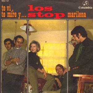 portada del disco Te Vi, Te Miré y... / Marilena