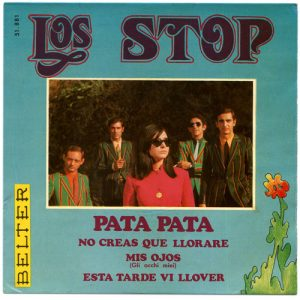 portada del disco Pata, Pata