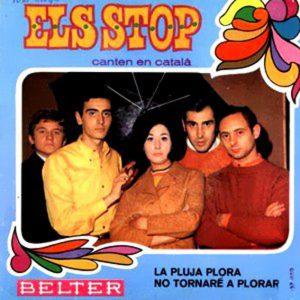 portada del disco La Pluja Plora / No Tornaré a Plorar / L'Avi / Canço dels Enamorats
