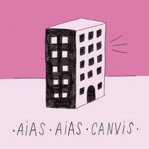 portada del disco Aias / Canvis