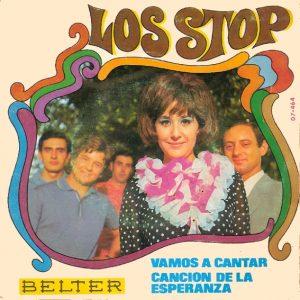 portada del disco Vamos a Cantar / Canción de la Esperanza