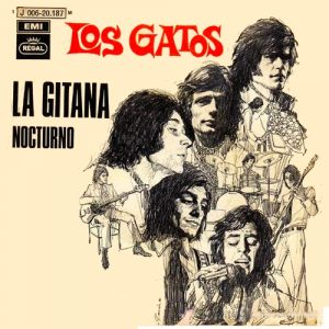 portada del disco La Gitana
