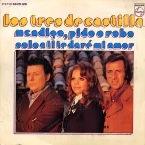 portada del disco Mendigo, Pido o Robo / Solo a Ti te Daré mi Amor