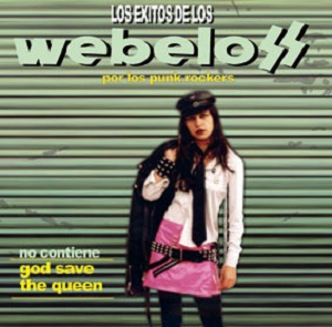 portada del disco Los Éxitos de los Webelos por los Punkrockers
