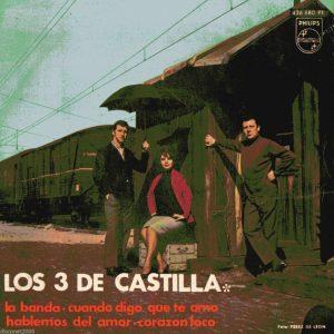 portada del disco La Banda / Cuando Digo Que Te Amo / Hablemos del Amor / Corazón Loco