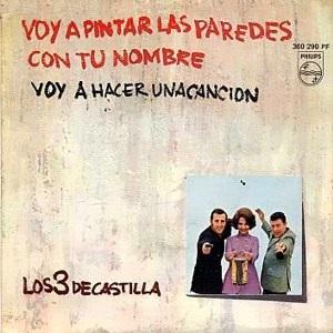 portada del disco Voy a Pintar las Paredes con tu Nombre