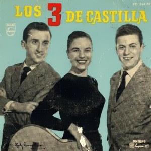 portada del disco Los 3 de Castilla
