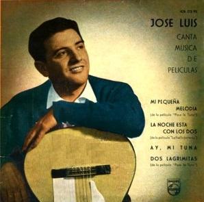 portada del disco José Luis Canta Canciones de Películas