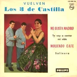 portada del disco Vuelven Los 3 de Castilla