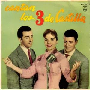 portada del disco Cantan Los 3 de Castilla