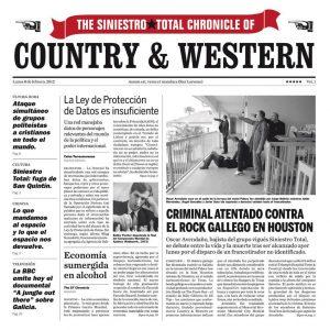 portada del disco Country & Western