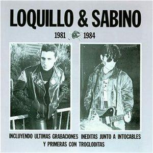 portada del disco Loquillo y Sabino