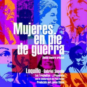portada del disco Mujeres en Pie de Guerra
