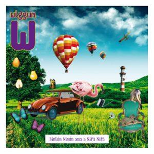 portada del disco Sintón Nisón Ama a Nifú Nifá