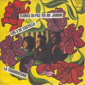 portada del disco Flores de Paz en mi Jardín / La Tramontana