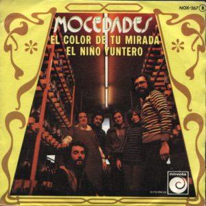 portada del disco El Color de tu Mirada / El Niño Yuntero