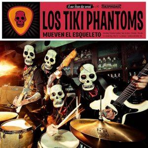 portada del disco Los Tiki Phantoms Mueven el Esqueleto