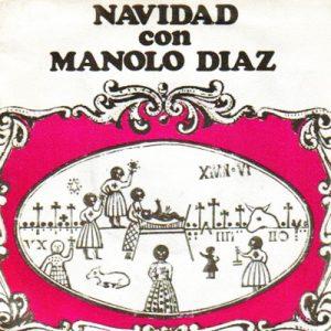 portada del disco Navidad con Manolo Díaz